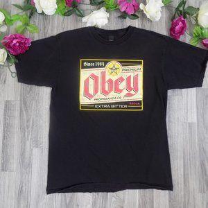 Obey propaganda Mens graphic tee Size: L